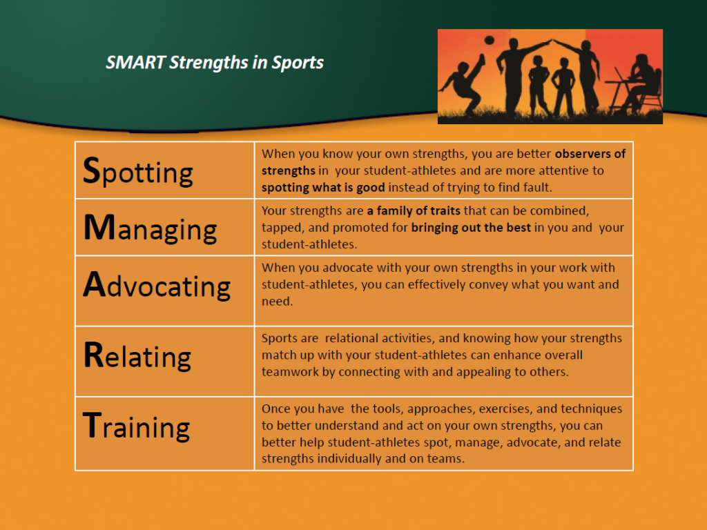 Smart Strengths - Positive Education in Sports